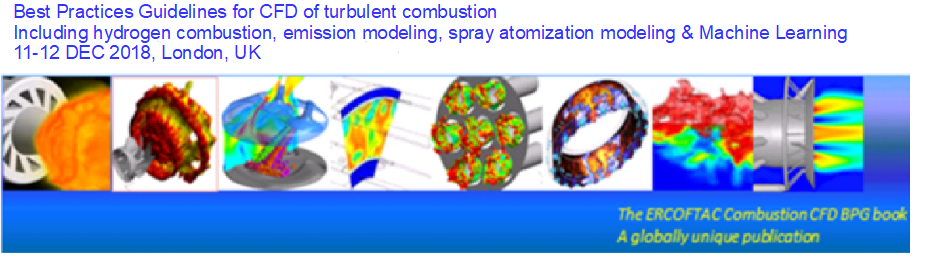 ERCOFTAC CADO - BPG for CFD of turbulent combustion, 11-12 December